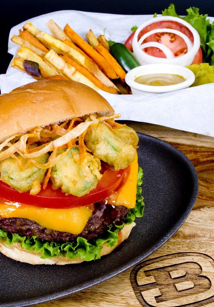Brazen BBQ's Jalapeno Burger