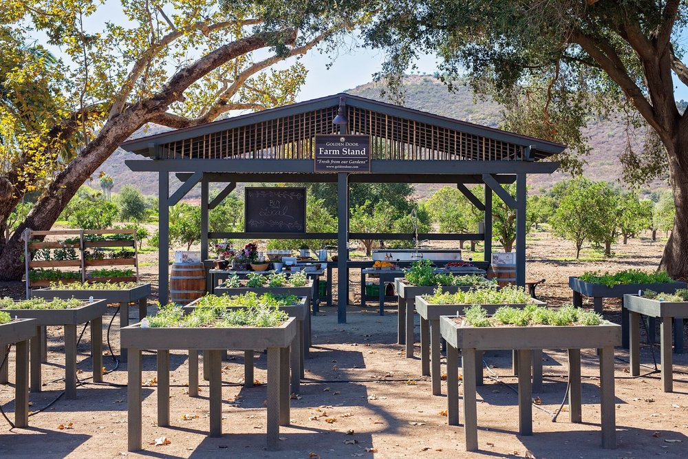 San Diego's Award-Winning Golden Door Resort Launches New Farm Stand