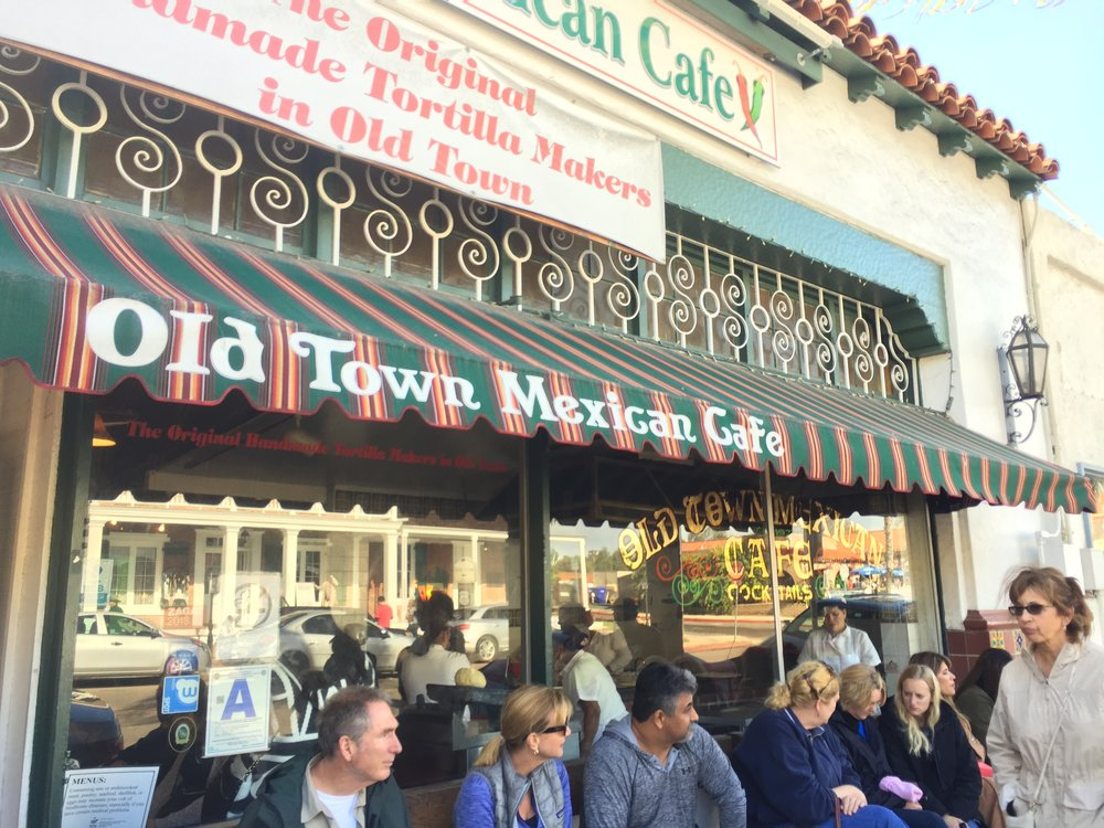 Old Town Mexican Cafe in San Diego