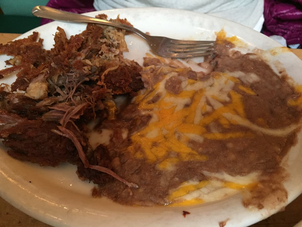 Carnitas at Old Town Mexican Cafe