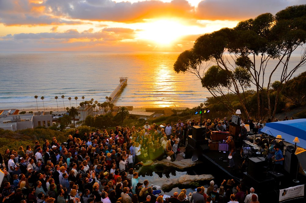 Green Flash Concerts at Scripps Aquarium 2017
