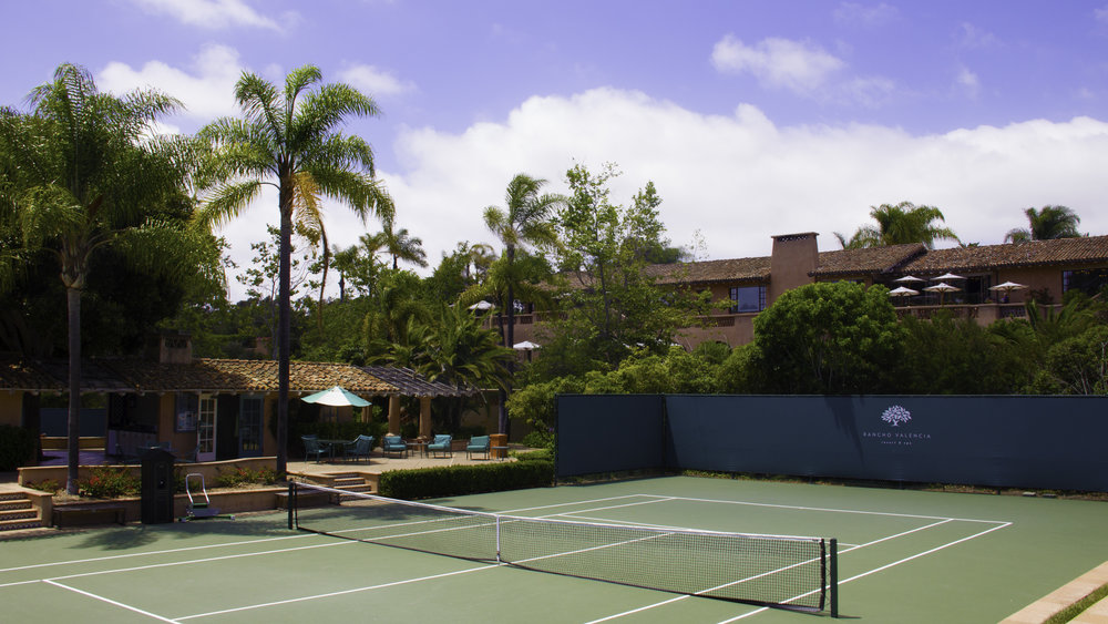 Rancho Valencia, San Diego:  Photo Credit Tennis Resorts Online