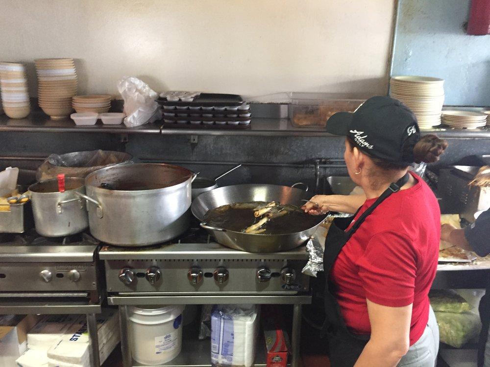 San Diego's best Mexican food La Cuatro Milpas