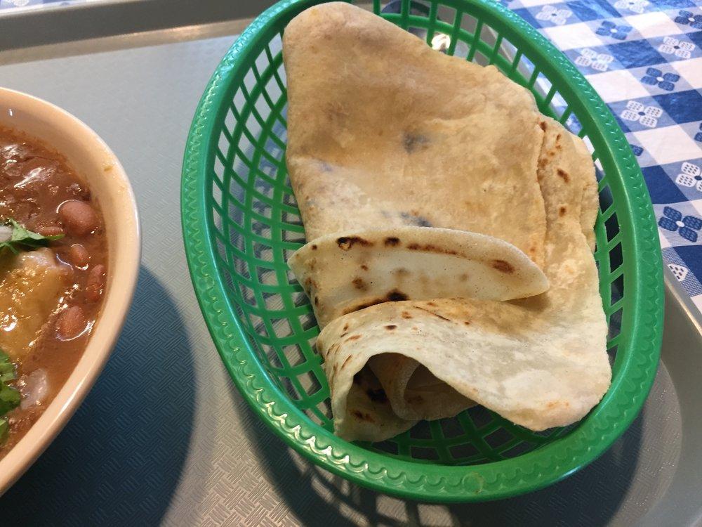 Las Cuatro Milpas tortillas