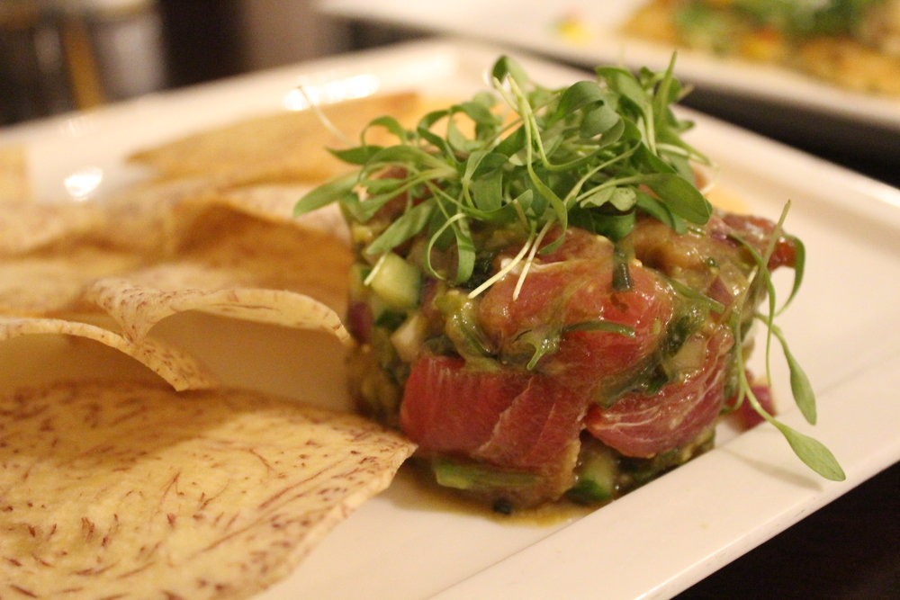 Ahi Poke at The Shores Restaurant in La Jolla