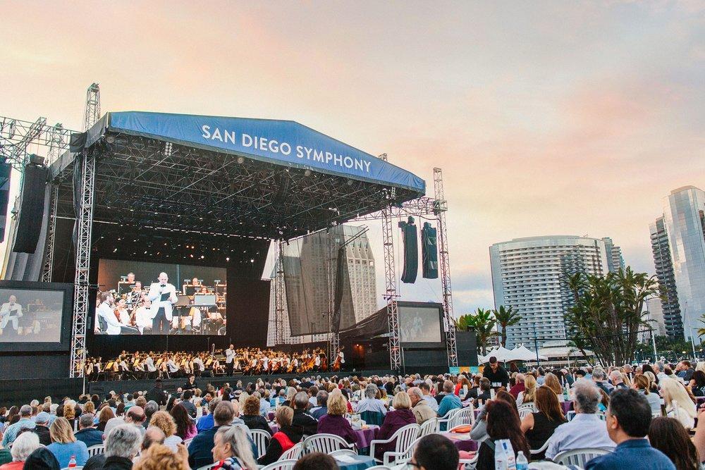 San Diego Symphony Summer 2018 Schedule