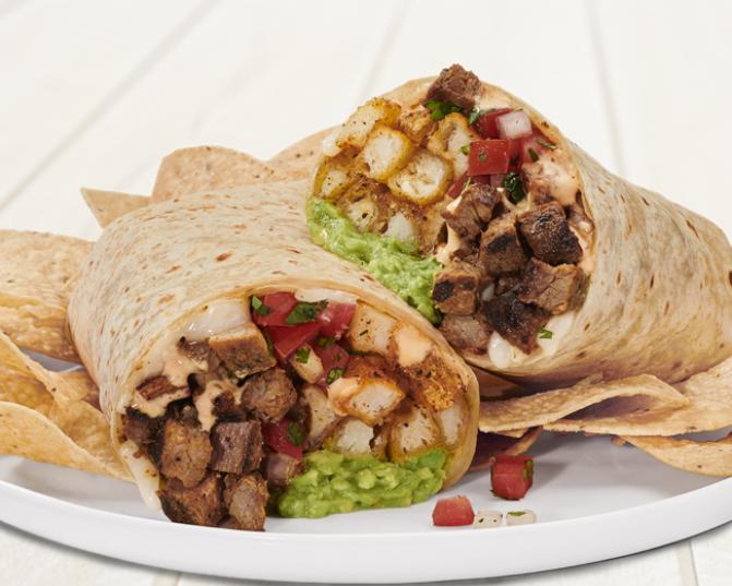 Rubios California Burrito