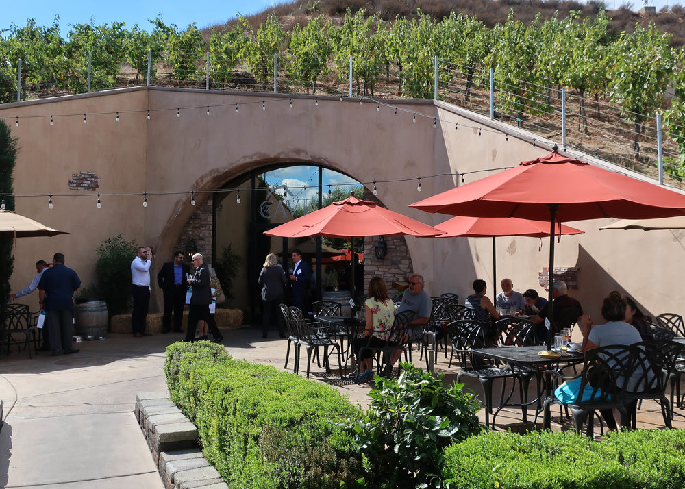 Oak Mountain is cave tastings in Temecula