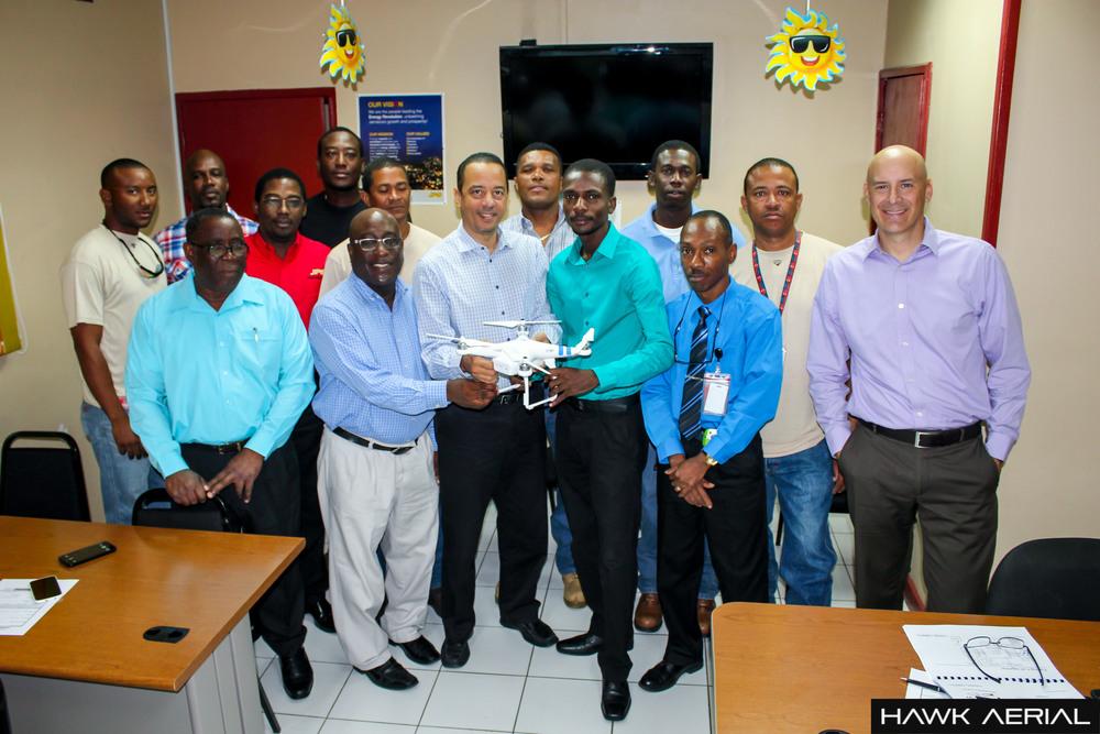 Jamaica Public Service completes UAS Training.