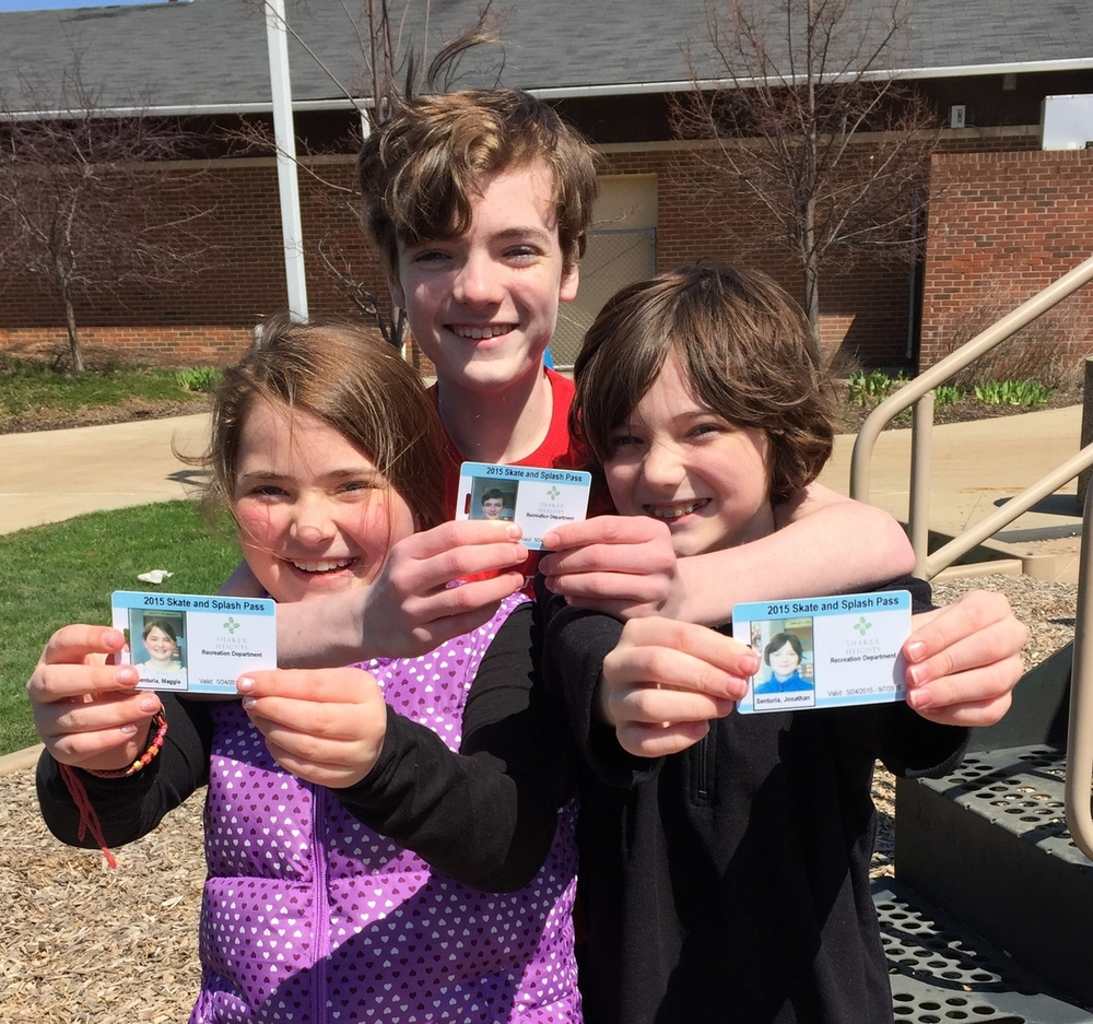 My kids getting annual pool pass to thornton on the last day for early bird rates!