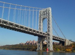 44 George Washington Bridge and Lighthouse