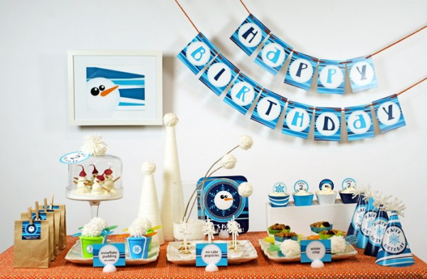 Toddler Birthday Party Ideas 600x393