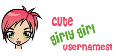 cute girly usernames