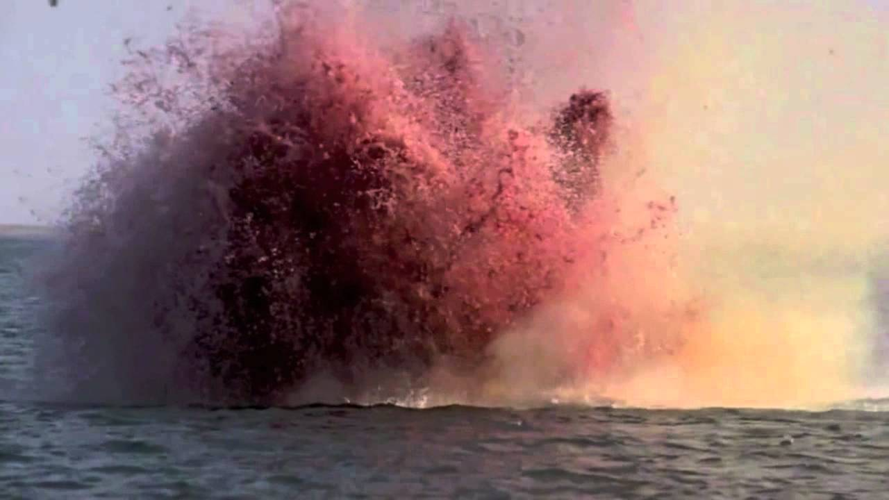 Dead then why not be the firework and not dead shark chunks jaws explosion fandeluxe Gallery