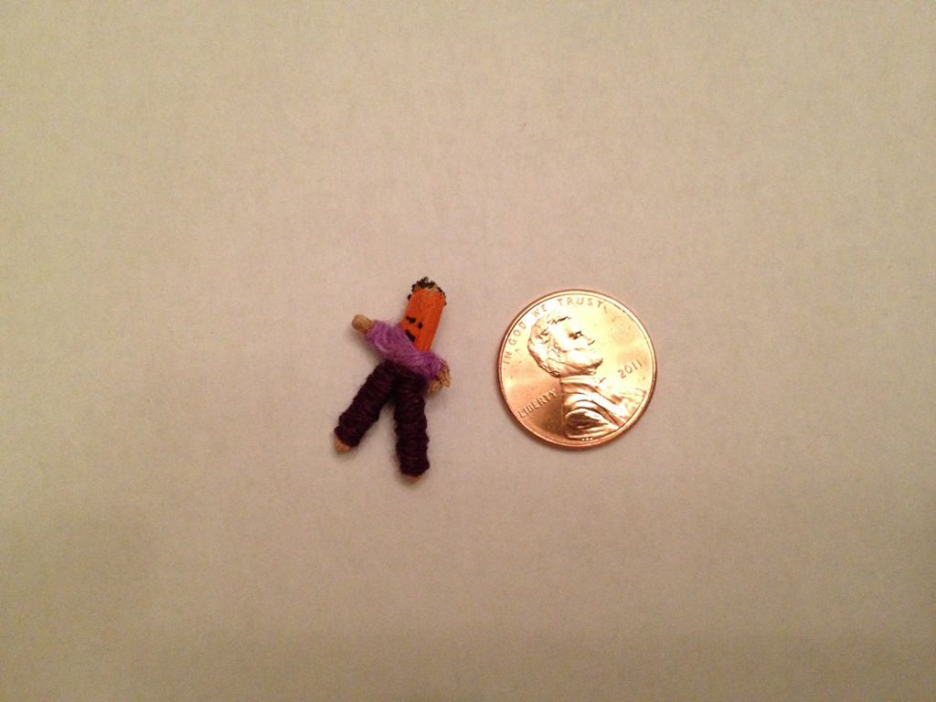 Mexican worry doll gave me something to seriously worry about ...