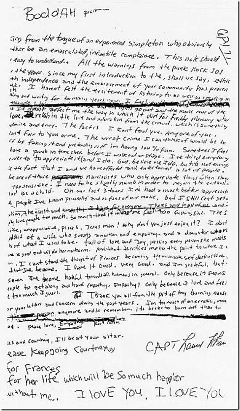 Kurt Cobain and Budo and Boodah — Matthew Dicks