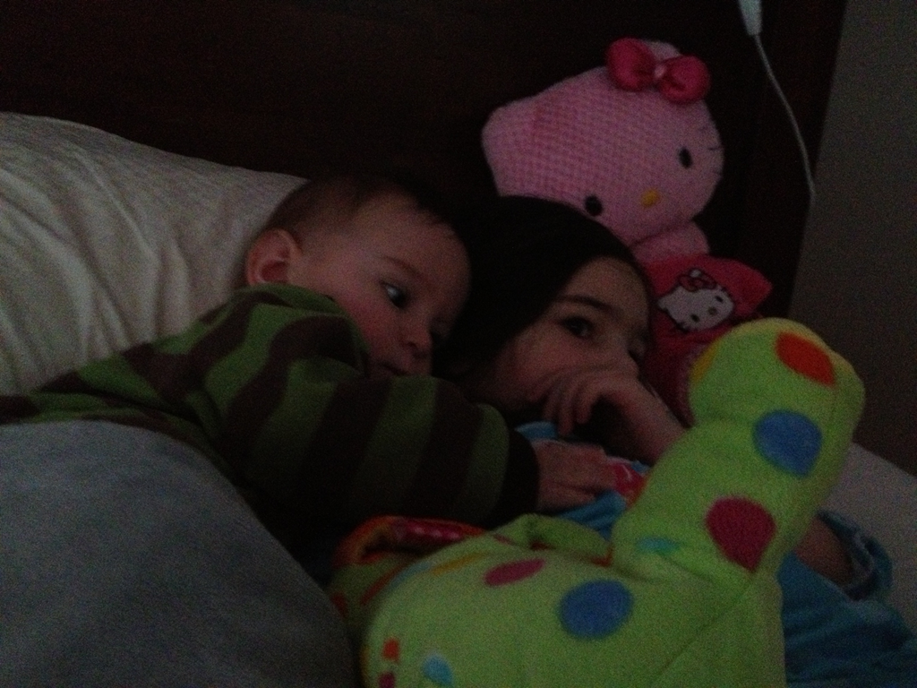 Sibling cuddles — Matthew Dicks