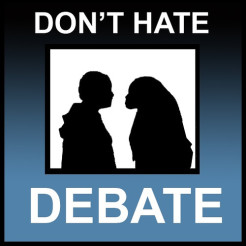 Don't hate debate