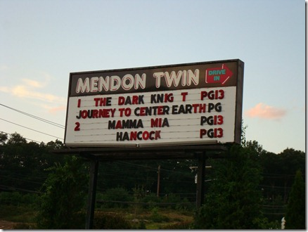 Mendon Twin Drive-In