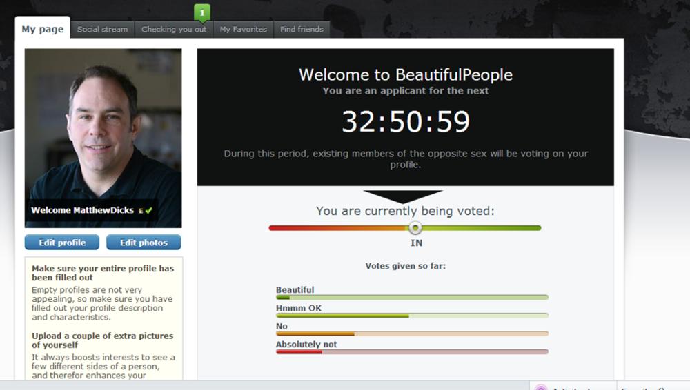 Beautiful people website