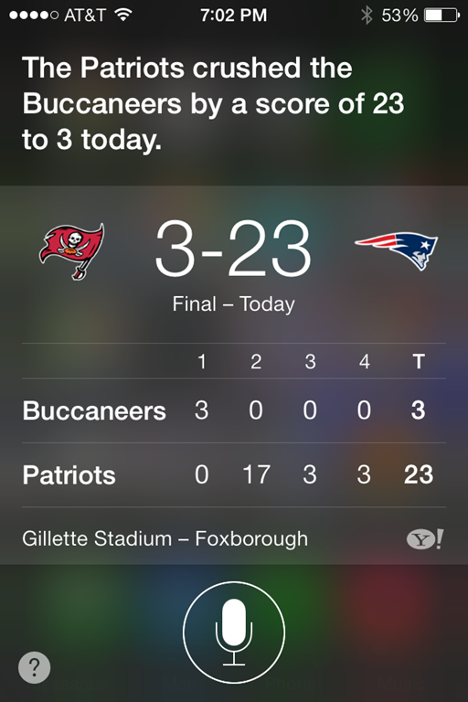 I also loved Siri s report on the Giants versus Panthers game f2343e0b9