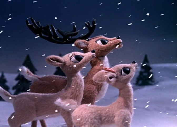 Rudolph the blowjob reindeer logically think