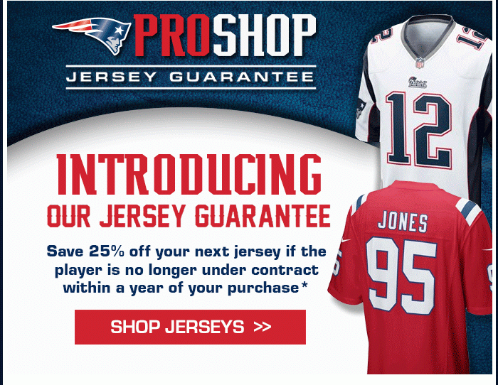 0f89f7cbc2ecb There s no greater testament to the fragile nature of job security in the  National Football League than this offer from the Patriots Pro Shop.