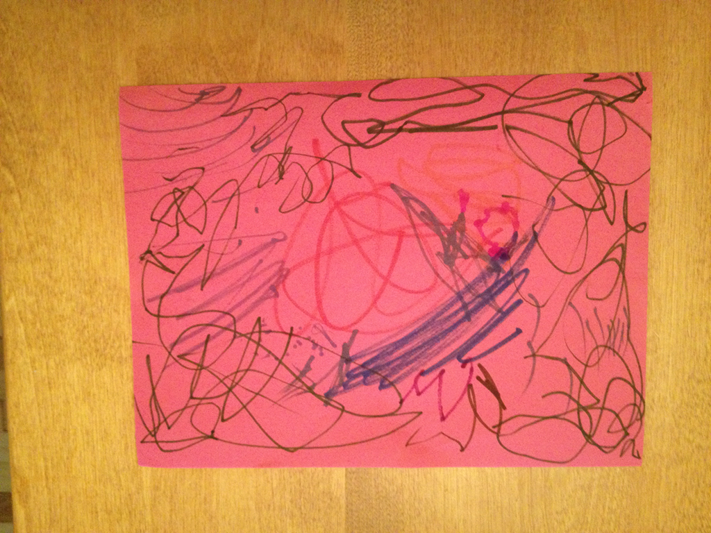 My daughter thinks she s found the next Jackson Pollock. Or maybe ... 698f03dab