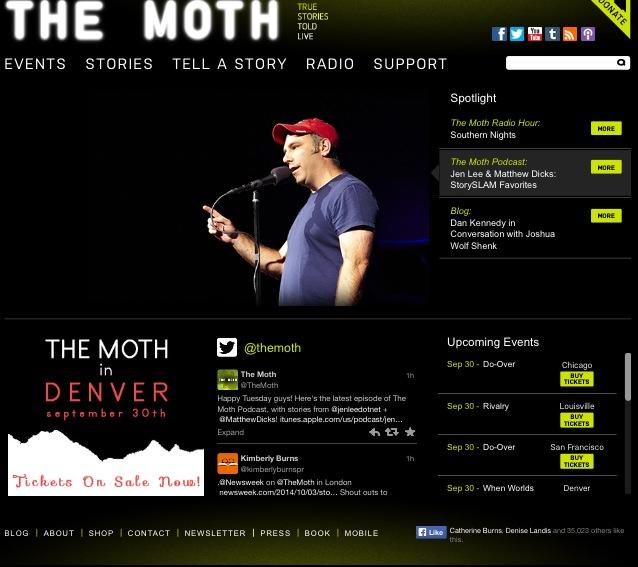 beaa255c3fc My story was featured on The Moth s podcast this week. I still get ...
