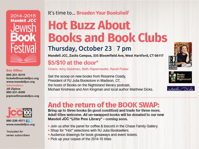 956690263d856 Hot Buzz About Books and Book Clubs — Matthew Dicks