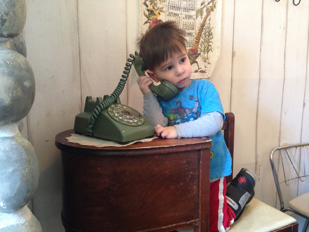 This Is Not A Telephone So How Does My Son Know That This Was Once