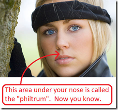 The tragedy of the philtrum: Join me in elevating it to its