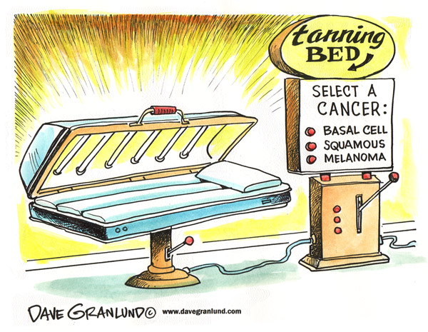 Tanning bed penis