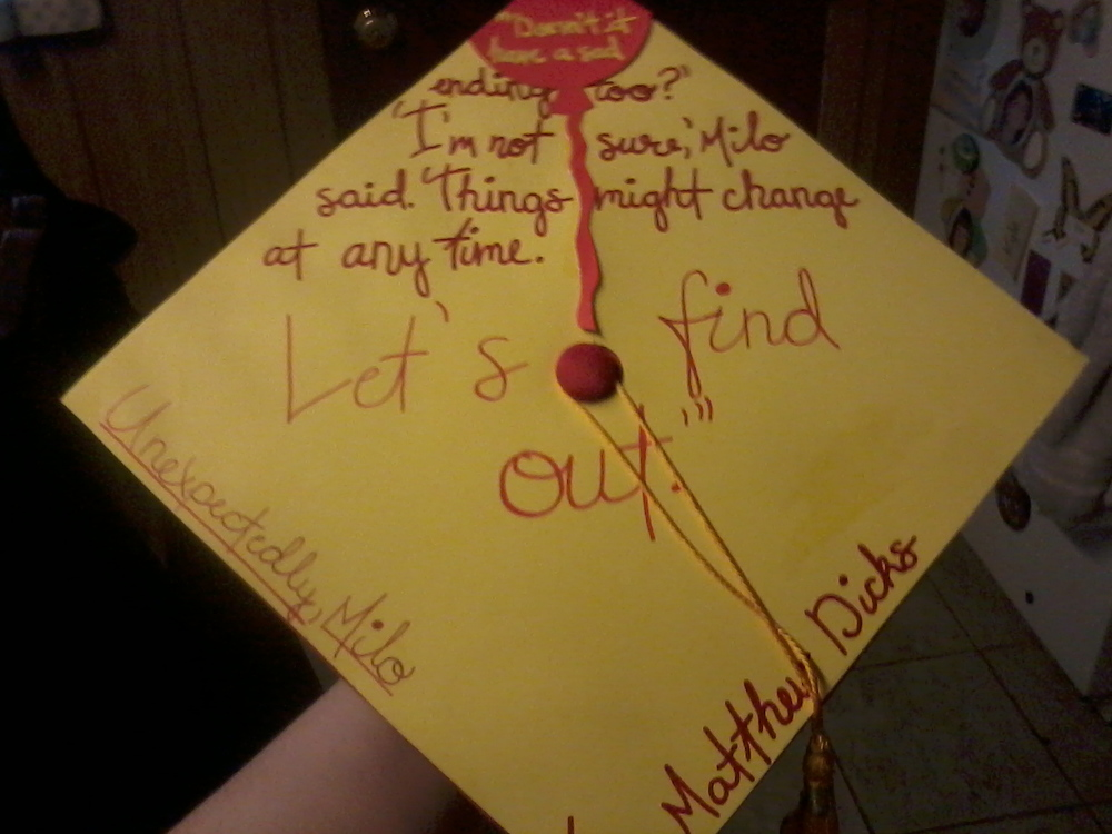 Grin And Bare It Quotes: Best Graduation Cap Ever