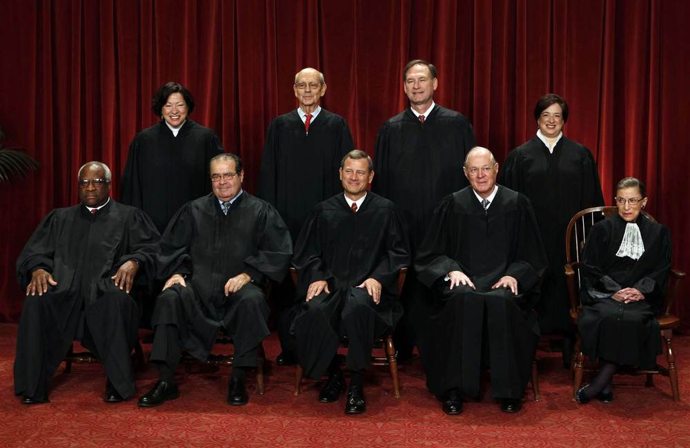 If you don't know that there are typically nine justices on the Supreme  Court, forget it. You might as well not speak to me unless it's about the  weather.