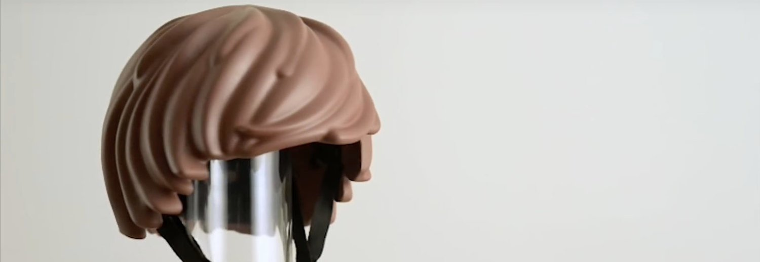 ba7f77b9182 This Playmobil bicycle helmet does not appeal to me