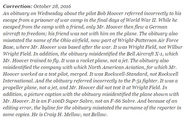Worst obituary ever  Greatest correction ever  — Matthew Dicks