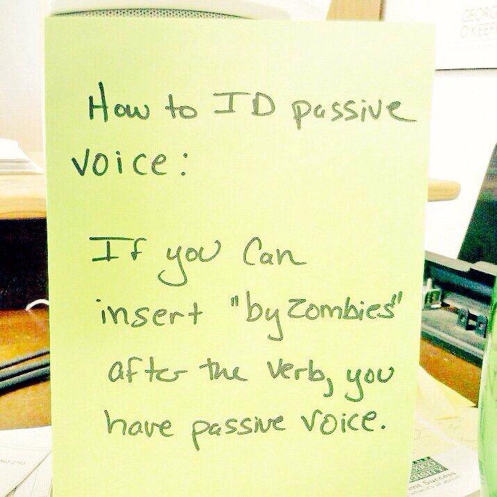 How To Identify Passive Voice Matthew Dicks