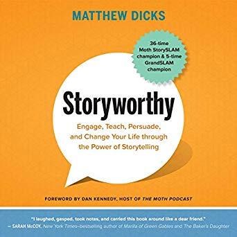 Storyworthy: The audiobook has arrived, narrated, perhaps
