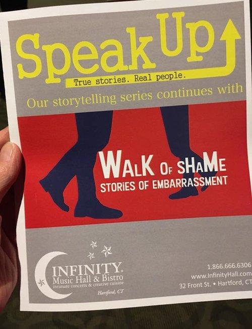 98e5d1022c Speak Up  60 was a big night — Matthew Dicks