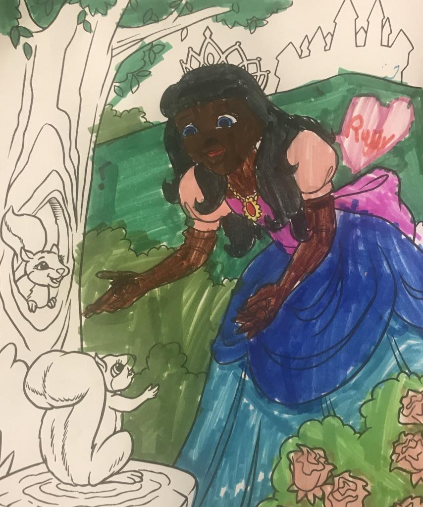 e760fd1e A beautiful princess — Matthew Dicks