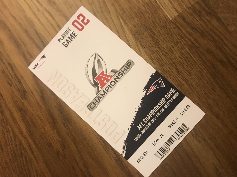 Patriots playoff presumptions — Matthew Dicks