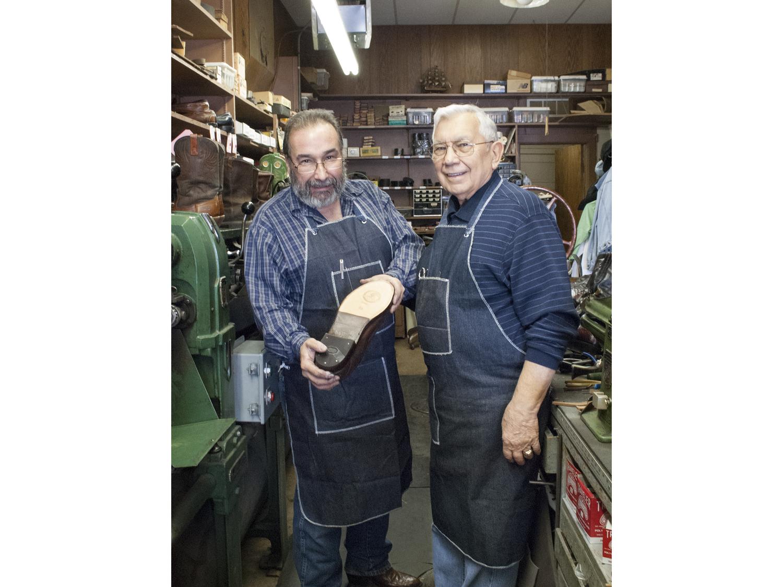 e932abf98f George Marinakes Shoe Repair: Shoes Expertly Rebuilt — HooDoo Series