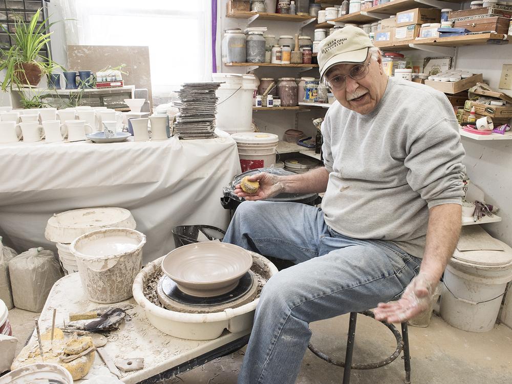 Bruce Grime, ceramicist