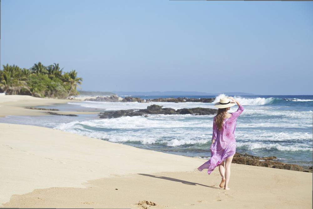 Caitlin Ahern Mexico Beach by Forrest Aguar