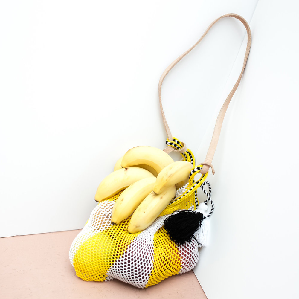Proud Mary Global Textiles Yellow Net Bag.jpg