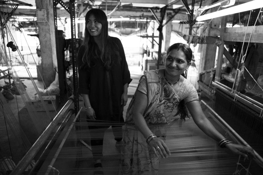 Briana BlaskoI photo of Anaak Collection Indian weavers.jpg