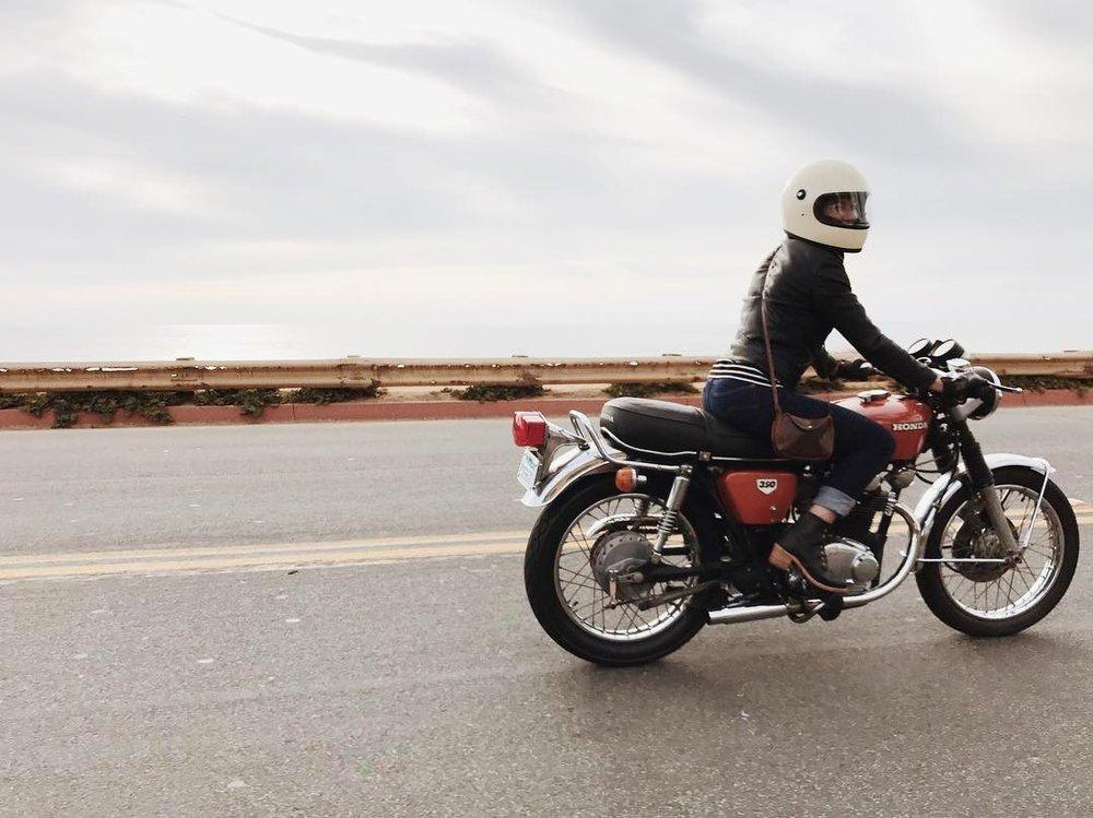 eliza sloane motorcycle san diego