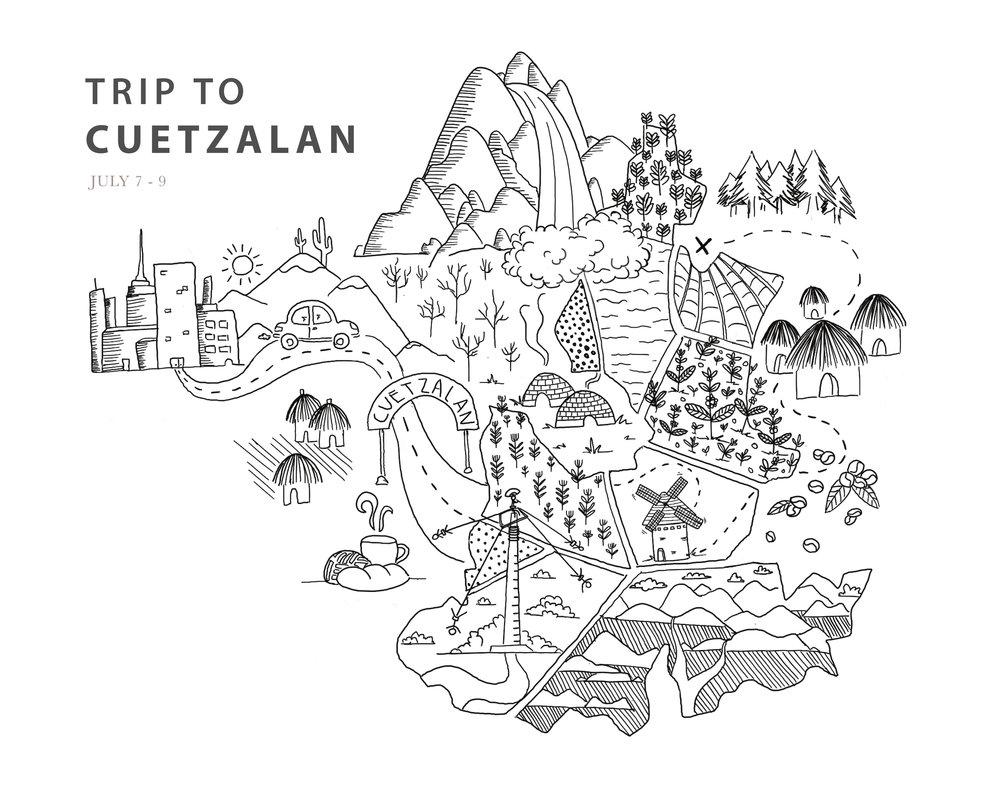 Viaje de Cuetzalan