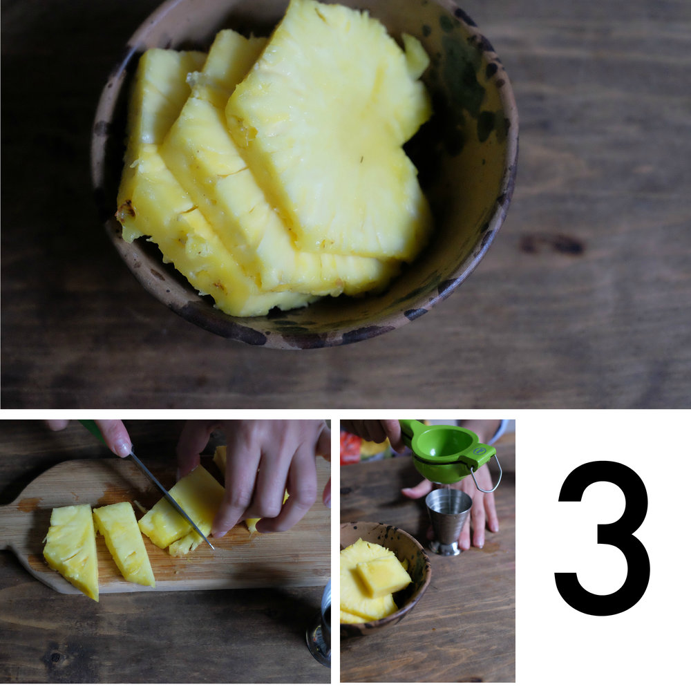 pineapple cocktail ingredients